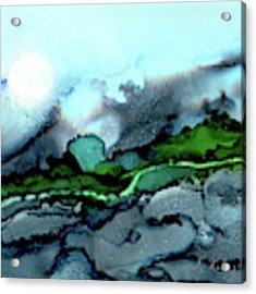 Moondance Iv Acrylic Print by Kathryn Riley Parker