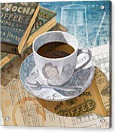 Morning Coffee Acrylic Print by Clint Hansen