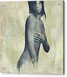 Naomi Acrylic Print by Jan Keteleer
