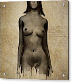 Naomi Standing In Front Acrylic Print by Jan Keteleer