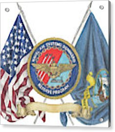 Naval Air Systems Command Reserve Program Acrylic Print by Betsy Hackett