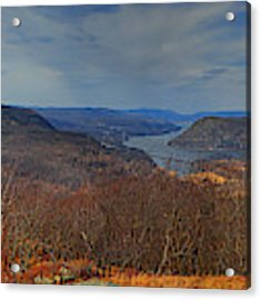 New York Appalachian Trail In Early Spring Acrylic Print by Raymond Salani III