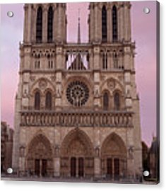 Notre Dame Cathedral Dawn Acrylic Print by Jemmy Archer