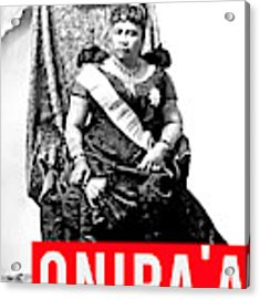 Onipaa Acrylic Print by MB Dallocchio