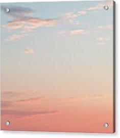 Outer Banks Sailboat Sunset Acrylic Print by Nathan Bush