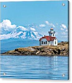 Patos Island Lighthouse  Acrylic Print by Rand