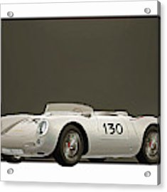 Porsche 550a Spyder 1956 Acrylic Print by Jan Keteleer