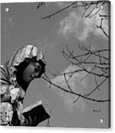 Prayer Acrylic Print by Edward Lee