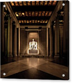Remembering Mr. Lincoln Acrylic Print by Chris Lord