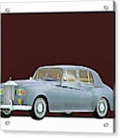 Rolls Royce Silver Cloud IIi 1963 Acrylic Print by Jan Keteleer