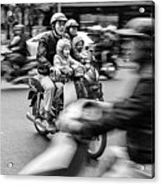 Rush Hour 1 Acrylic Print by Rand