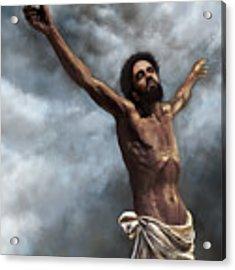 Son Of God Acrylic Print by Dwayne Glapion