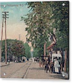 South Main Street Phillipsburg N J Acrylic Print by Mark Miller