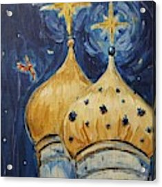 Stars Near And Far Acrylic Print by Maria Langgle