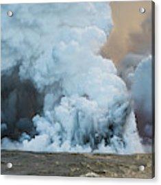 Submerged Lava Bomb Acrylic Print by William Dickman