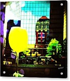 Summertime Downtown Lexington  Acrylic Print by Rachel Maynard