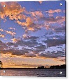 Sunrise Sky Acrylic Print by Lisa Wooten