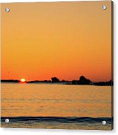 Sunset Over Sunset Bay, Oregon 4 Acrylic Print by Dawn Richards