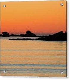 Sunset Over Sunset Bay, Oregon 5 Acrylic Print by Dawn Richards