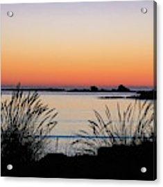 Sunset Over Sunset Bay, Oregon 6 Acrylic Print by Dawn Richards