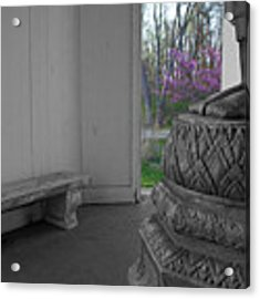 Temple Budding Acrylic Print by Dylan Punke