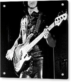 The Who Bassist Performing Acrylic Print by Tom Copi