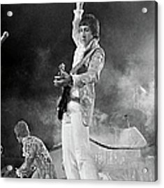 The Who Perform In Flint For Keiths 20th Acrylic Print by Michael Ochs Archives
