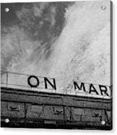 Union Market The Original Sign Washington Dc Acrylic Print by Edward Fielding