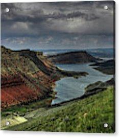 Utah - Flaming Gorge 005 Acrylic Print by Lance Vaughn