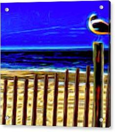 Watchin' The Tide Roll, Away Acrylic Print by Paul Wear