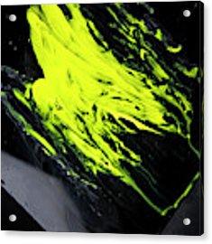 Yellow, No.8 Acrylic Print by Eric Christopher Jackson