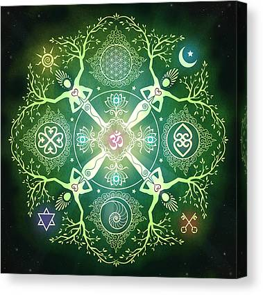 Celtic Spiral Canvas Prints