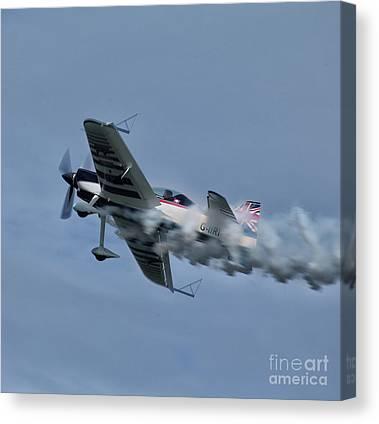 Aerobatics Canvas Prints
