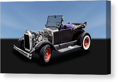 1927 Ford Roadster Canvas Prints