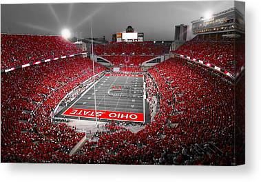 Football Game Canvas Prints