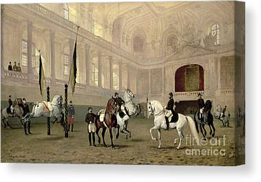 Spanish Riding School Canvas Prints