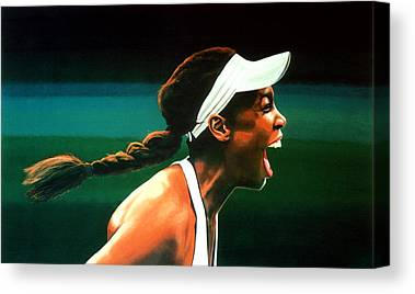 Venus Williams Canvas Prints
