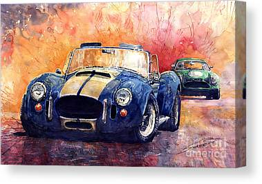 Classic Car Canvas Prints
