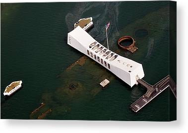 Uss Arizona Canvas Prints