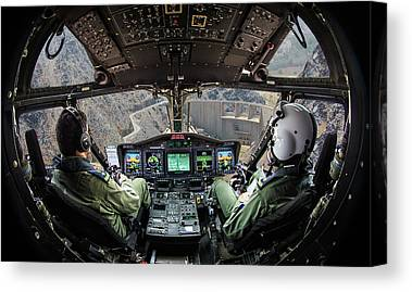 Cockpits Canvas Prints