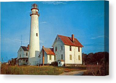 Fenwick Island Lighthouse Canvas Prints