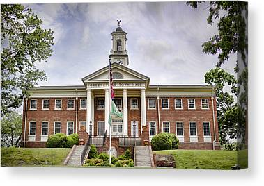 Town Of Franklin Canvas Prints