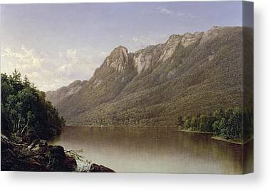 Franconia Notch Canvas Prints