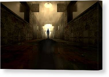 Psychiatric Digital Art Canvas Prints