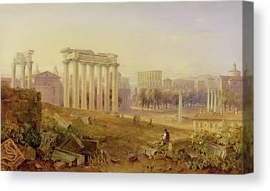 The Forum Canvas Prints