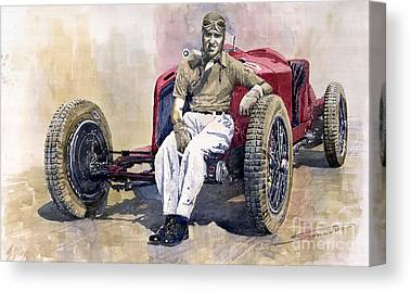 Vintage Sports Car Canvas Prints