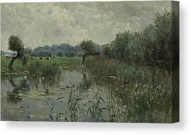 Floodplain Canvas Prints