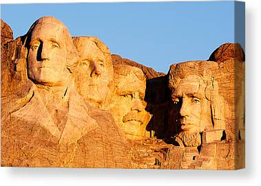 Mount Rushmore Canvas Prints