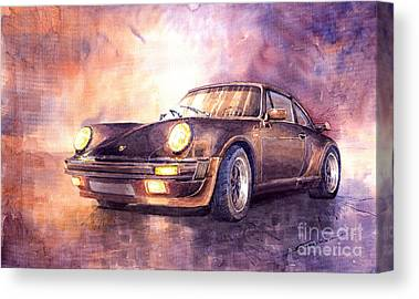 Porsche Canvas Prints