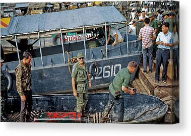 Vietnam War Canvas Prints